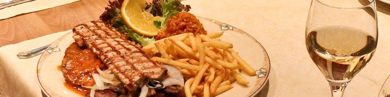 Metaxa Restaurant Speisen